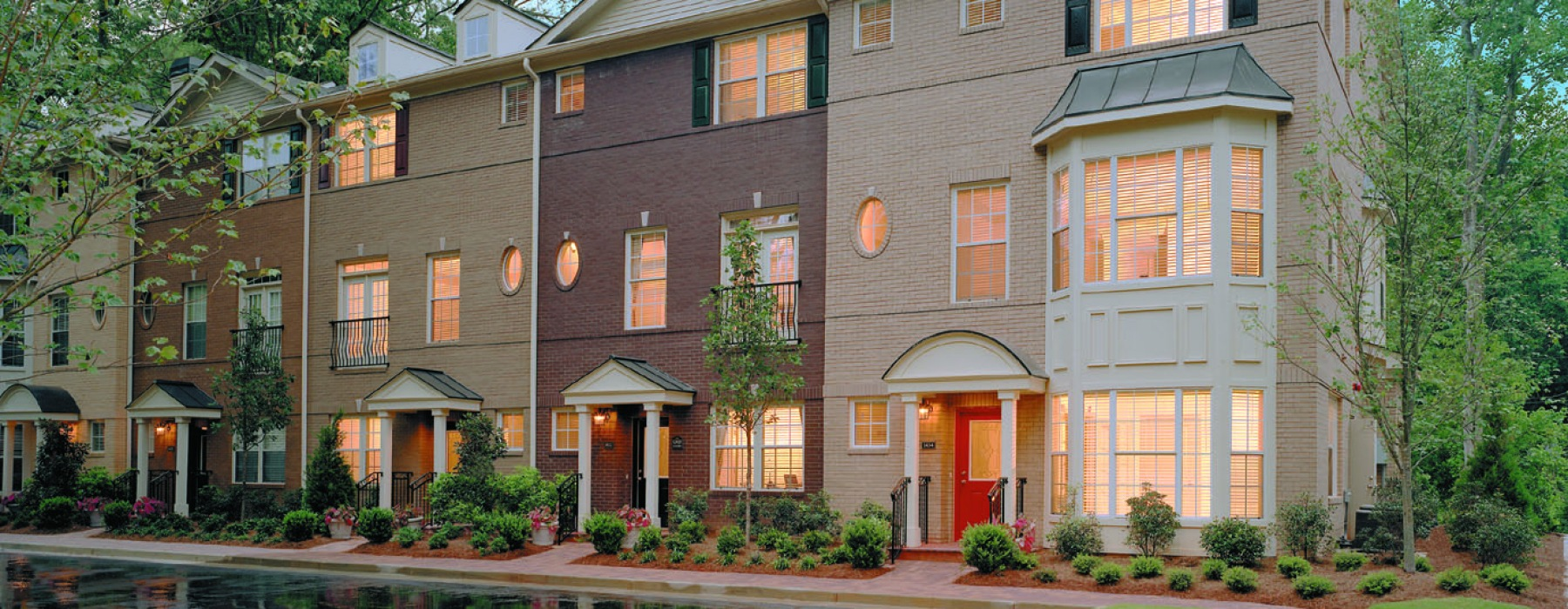 Townhome Entries